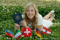 Missionary Photo Idea with flags from countries/ states within the mission boundaries