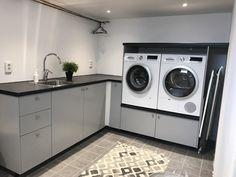 Utility Room Storage, Laundry Room Storage, Laundry Room Layouts, Laundry Room Design, Laundry Room Inspiration, Home Decor Inspiration, Shoe Storage Design, Küchen Design, House Design