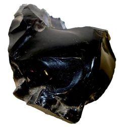 OBSIDIANA: é uma pedra excelente para estabilizar, acalmar, proteger e ainda serve de escudo contra formas de pensamentos negativos e ainda ajuda a concentrar a energia dispersa.