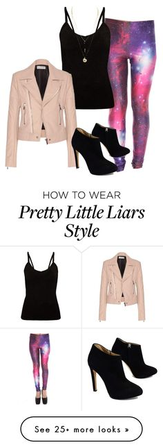 """""""Aria from Pretty Little Liars"""" by crln123 on Polyvore featuring Balenciaga and Giuseppe Zanotti"""