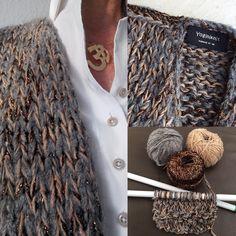 Cosy knit for winter #yoginiknit #handmadewithlove #knittfulness #knittingaddict #breien #tricot