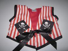 Pirate Girl waistcoat/vest by dressingupchest on Etsy