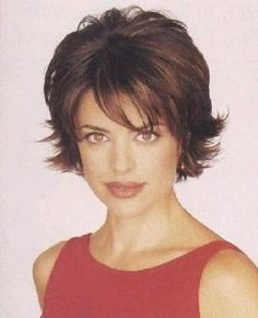 short flip out haircuts for fine hair - Google Search | hair styles ...