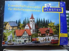 Plastoy / Faller Model Railway Landscape Set HO 1:87 5 Model Building Kits   r.ebay.com/N9bClZ