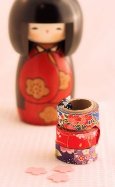 [DIY Washi Tape] Ever since I saw these at Epcot Japan, I am DYING to make my own! *cuteness*