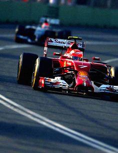 Australian Grand Prix, Melbourne, 2014 Kimi Räikkönen