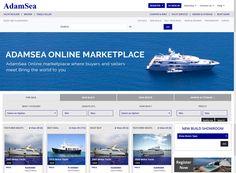 AdamSea.com launches it's Brand New Interface. Visit https://www.AdamSea.com