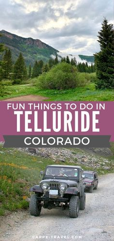 Fun Things To Do in Telluride, Colorado. Mostly known for fall and winter attractions this list will make you want to plan your travel to Telluride during the summer months! Glance through ideas for restaraunts, hiking, museums, paddle boarding and kayaking, biking, and so much more. Check out the post and start planning your next travel adventure today! #familytravel #winetravel #traveltips #traveladventures #Telluride #Colorado
