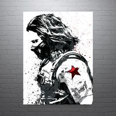 Civil War Winter Soldier Poster