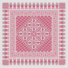 Table-Cloth cross stitch pattern