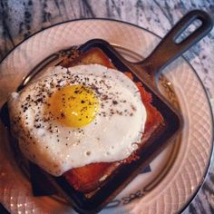 """Discovered by Bradley Hanson: """"Lobster grilled cheese sandwich with fried egg..."""" at Butcher & The Boar in Minneapolis, MN"""