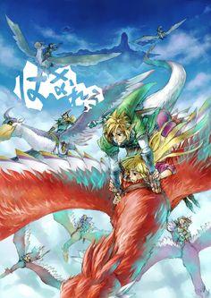 Tags: Anime, Fanart, Nintendo, The Legend of Zelda, Pixiv | The Legend of Zelda: Skyward Sword