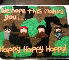Yet another duck dynasty cake