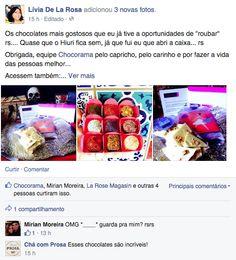 facebook Lívia de La Rosa