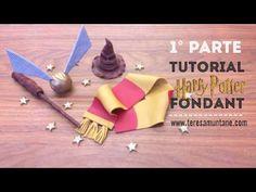 Figura fondant Gorro Harry Potter - 1º PARTE - YouTube
