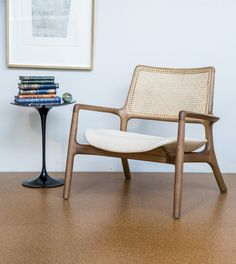 Relax and unwind in this chair.