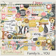 Family Is ... YOU by Cornelia Designs