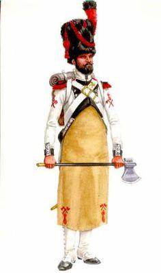 Zappatore del 14 rgt. fanteria di linea francese