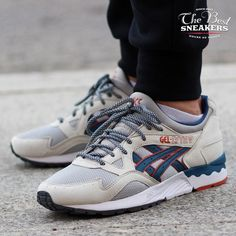 Asics Gel-Lyte V Light ''Grey Legion Blue'' (H6A2Y-1345)