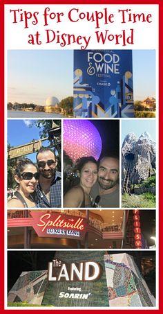 Tips for Fun Couple Time at Disney Parks - LadydeeLG Disney World Food, Disney World Planning, Disney World Vacation, Disney World Resorts, Disney Vacations, Disney Travel, Disney World Tips And Tricks, Disney Tips, Disney Fun
