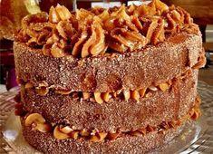 Aprenda a fazer um bolo de churros