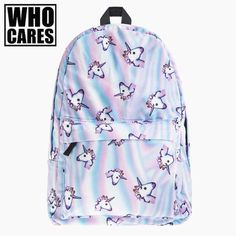 Hologram Shine Cute Unicorn Backpack