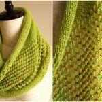 Knit Jeweled Cowl