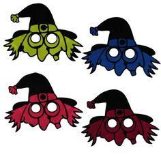 maska čarodějnice | Karnevalové kostýmy a škrabošky