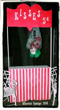 images of creepy carnival - Yahoo Image Search Results Scary Carnival, Halloween Carnival Games, Haunted Carnival, Carnival Decorations, Halloween Door Decorations, Halloween Party Decor, Holidays Halloween, Halloween Themes, Creepy Circus