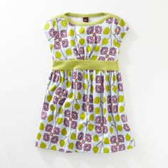 Adorable Tea Collection dress. Why can't they make these in my size? :) Also like the color combo