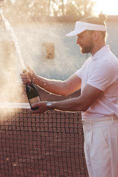 tennis pop up party moët chandon le méridien thelionheaded #TennisPlanet www.tennisplanet.com