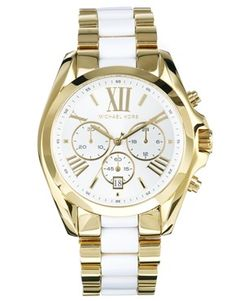 Michael Kors Stainless Steel Chronograph Watch