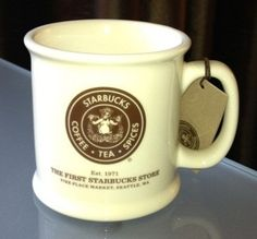Pike Place Made in USA The First Starbucks Store mug