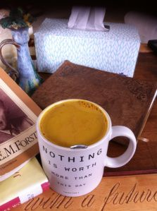 Turmeric Tea -- how to make it and why it's wonderful