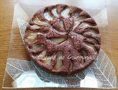 Tarte Cake Poire de Christophe Felder