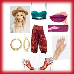 boho by popalah on Polyvore featuring polyvore fashion style Prism Bling Jewelry Anastasia Beverly Hills