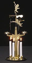 Swedish Sale Items > Swedish Christmas Angel Chimes - brass (reg $16.95) A Swedish, Scandinavian, and worldwide Christmas tradition for generations- Swedish