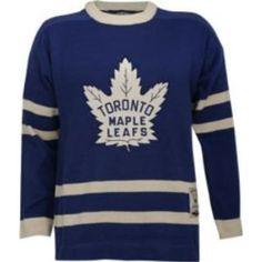 Toronto Maple Leafs Vintage Blue Reebok Heritage Sweater Jersey