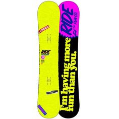 Ride Buckwild Snowboard 2013 ❤ liked on Polyvore featuring snowboard