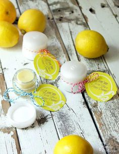 DIY Lemonade Lip Balm | Pretty Handy Girl #prettyhandygirl #DIY #crafts #LipBalm #naturallipbalm