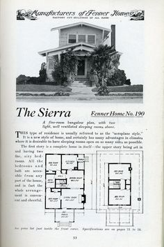 Explore Daily Bungalow's photos on Flickr. Daily Bungalow has uploaded 7337 photos to Flickr. Vintage House Plans, Traditional Homes, Victorian Houses, House Floor Plans, Dream Homes, Old Houses, Cottages, Bungalow, House Ideas