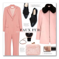 """""""#103"""" by just-a-girl-with-thoughts ❤ liked on Polyvore featuring River Island, Sophia Webster, Christian Siriano, INC International Concepts, Bobbi Brown Cosmetics, Monica Vinader and fauxfur"""