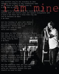 Something I designed with a shot I took at the Atlanta show.    #i am mine    #pearl jam  #eddie vedder