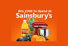 Win To Spend At Sainsburys Shopping Vouchers, Sainsburys, Free Food, Food And Drink, Drinks, Drinking, Beverages, Drink, Beverage