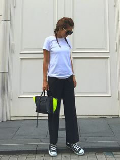 titivateのパンツ「【STORY 9月号掲載】センタープレスロングパンツ」を使ったgreennaaaamiのコーディネートです。WEARはモデル・俳優・ショップスタッフなどの着こなしをチェックできるファッションコーディネートサイトです。