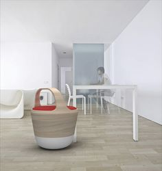 Bounce Chair by Pedro Gomes, via Behance - healthy seating in smooth design