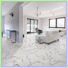 Merola Tile Classic Calacatta 18 in. Ceramic Floor and Wall Tile sq. / - The Home Depot click now for info. Epoxy Floor, Marble Floor, Tile Floor, Floor Design, Home Design, Interior Design, Room Tiles, Wall Tiles, Tile Bedroom