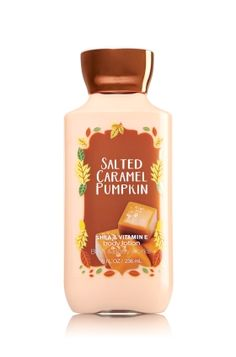 Salted Caramel Pumpkin - Body Lotion - Signature Collection - Bath