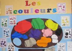 Les Couleurs classroom display photo - Photo gallery - SparkleBox