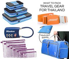 What to pack for Thailand: Recommended travel gear to pack